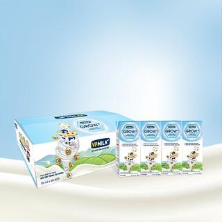 Sữa Tiệt Trùng Có Đường VPMilk Grow+ Hộp 180ml (Thùng 48 Hộp)