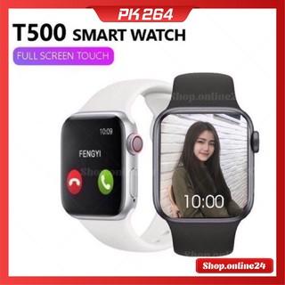 [ T500 NEW ] Đồng hồ thông minh T500 – Gọi điện nghe nhạc trực tiếp – Thay được hình nền tùy ý