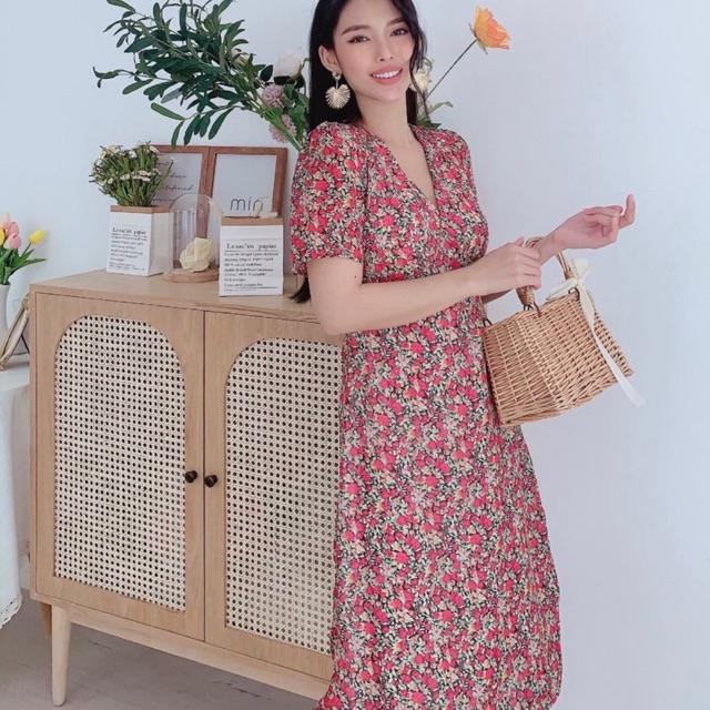 Đầm suông hoa 🌷Đầm suông🌷FREESHIP 🌷Nhập MADEBY20 giảm 20k đơn trên 300k