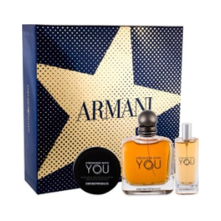 Set Nước Hoa Nam Giorgio Armani Emporio Armani Stronger With You EDT (100ml + 15ml + sáp 50ml) - Scent of Perfumes thumbnail