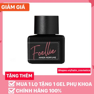 nước hoa vùng kínFREESHIPnước hoa vùng kín Foellie đen HALIN55T623
