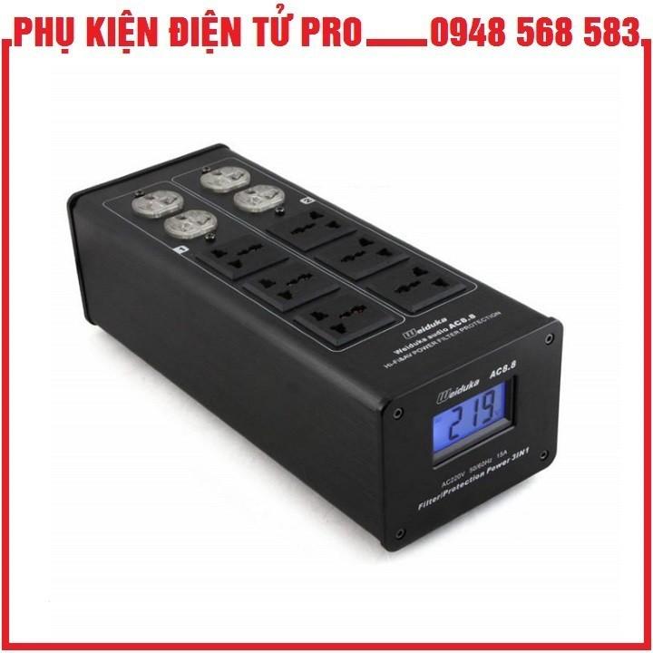 Bộ Lọc Điện Audio Weiduka Ac 8.8 Advance 2018 - 22308377 , 2332421635 , 322_2332421635 , 935000 , Bo-Loc-Dien-Audio-Weiduka-Ac-8.8-Advance-2018-322_2332421635 , shopee.vn , Bộ Lọc Điện Audio Weiduka Ac 8.8 Advance 2018