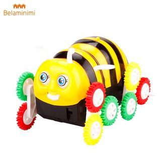 Bela| Electric Bee Shape Stunt Toy Gift Wheels