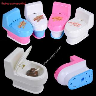 ♣✨♣ Novelty Spoof Gadgets Toys Mini Prank Squirt Spray Water Toilet Closestool Joke Gag Toy Gift For April Fool's Day