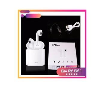 [Mã ELFLASH5 giảm 20K đơn 50K] Tai Nghe Bluetooth I7S-TWS Kết Nối Không Dây Âm Thanh Bao Chất - Nghe 2 Tai