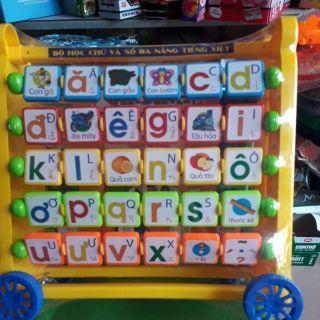 Bảng học chữ và số đa năng cho bé