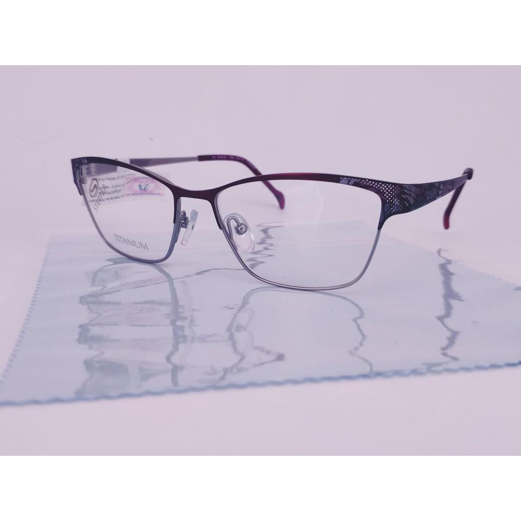 Gọng kính cận thời trang STEPPER SI-50123 Purple -/Metal