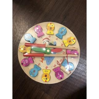 Đồng hồ câu cá đa năng Vivitoys-đồ chơi gỗ thông minh