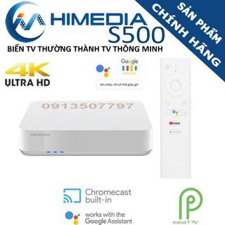 HIMEDIA.. S500 - Android TV 9.0 chính chủ google Chính hãng - Kèm Remote Voice - S500