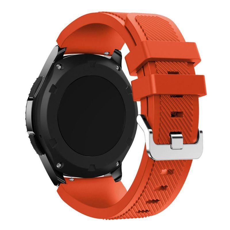 Dây đeo silicone cho Samsung Galaxy Watch 46MM/Gear S3/Gear2/Huami Amazfit/Pebble/Asus/LG/Ticwatch