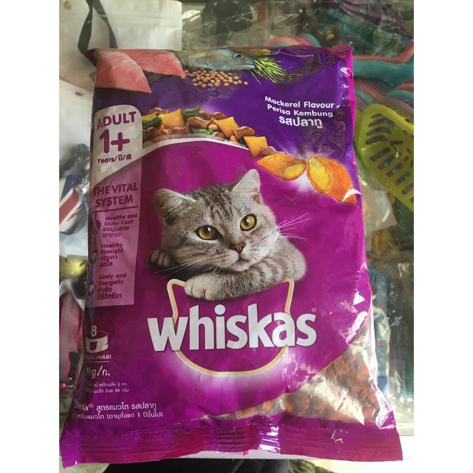 thức ăn mèo whiskat