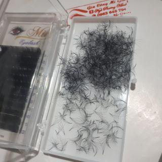 Mi fan 4d sẵn (hộp 1000 fan) đen, mềm, bắt keo-1