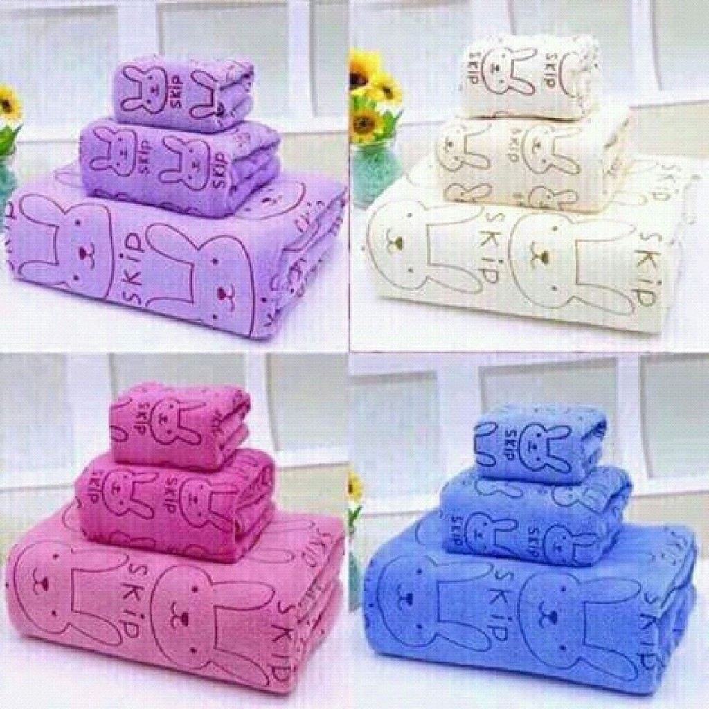 Bộ 3 khăn tắm Thái siêu mềm mịn loại 1,4M - 2756924 , 286397891 , 322_286397891 , 90000 , Bo-3-khan-tam-Thai-sieu-mem-min-loai-14M-322_286397891 , shopee.vn , Bộ 3 khăn tắm Thái siêu mềm mịn loại 1,4M