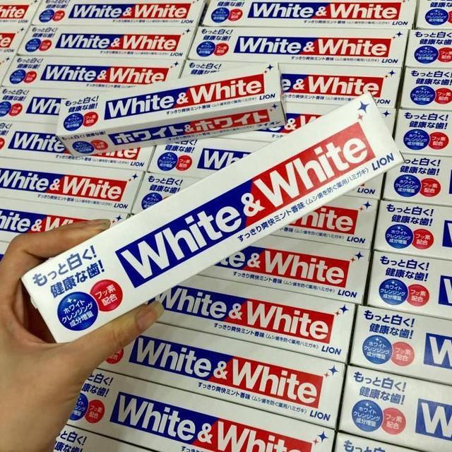 Kem Đánh Răng White & White Lion Nhật Bản - 150g - 3521029 , 1190818433 , 322_1190818433 , 45000 , Kem-Danh-Rang-White-White-Lion-Nhat-Ban-150g-322_1190818433 , shopee.vn , Kem Đánh Răng White & White Lion Nhật Bản - 150g