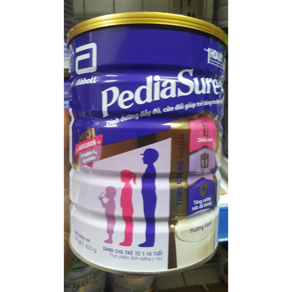 Sữa bột Pediasure hương vani 850g( date:2021)