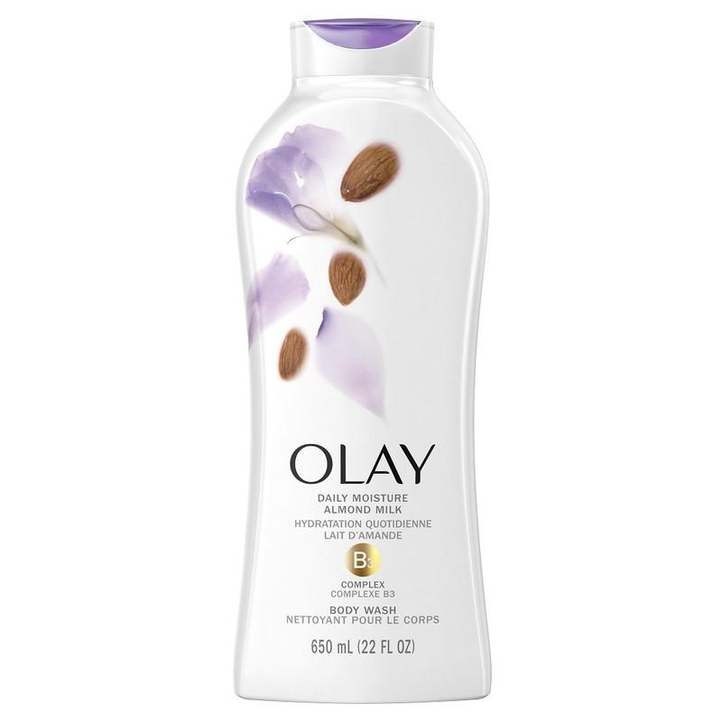 Sữa tắm Olay Body wash Hydrating Clean Almond Milk 650ml | Shopee Việt Nam