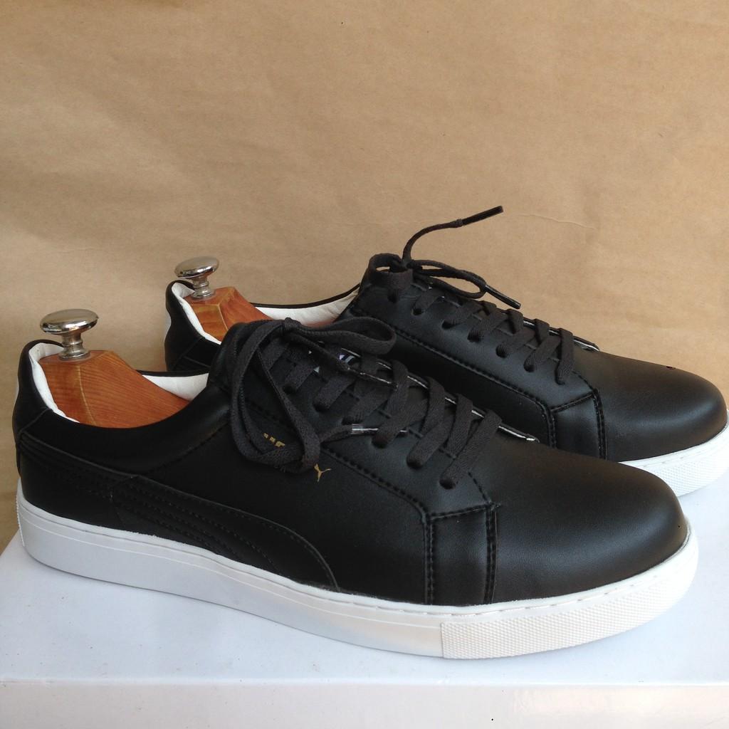 XƯỞNG SẢN XUẤT BÁN BUÔN Giày thể thao Sneakers nam nữ giá rẻ màu đen - SN01Đ - 3590596 , 1046681535 , 322_1046681535 , 95000 , XUONG-SAN-XUAT-BAN-BUON-Giay-the-thao-Sneakers-nam-nu-gia-re-mau-den-SN01D-322_1046681535 , shopee.vn , XƯỞNG SẢN XUẤT BÁN BUÔN Giày thể thao Sneakers nam nữ giá rẻ màu đen - SN01Đ
