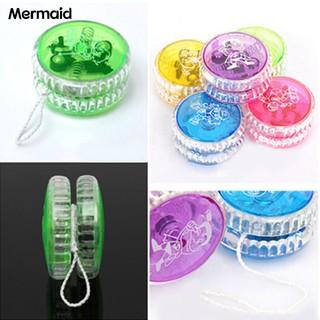 Mermaid Light Up Trick Clutch Mechanism Ball Return Top Yo-Yo Funny