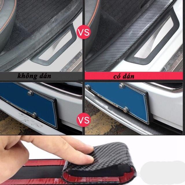 Đồ chơi ôtô| miếng dán carbon ( miếng dán để chân xe )