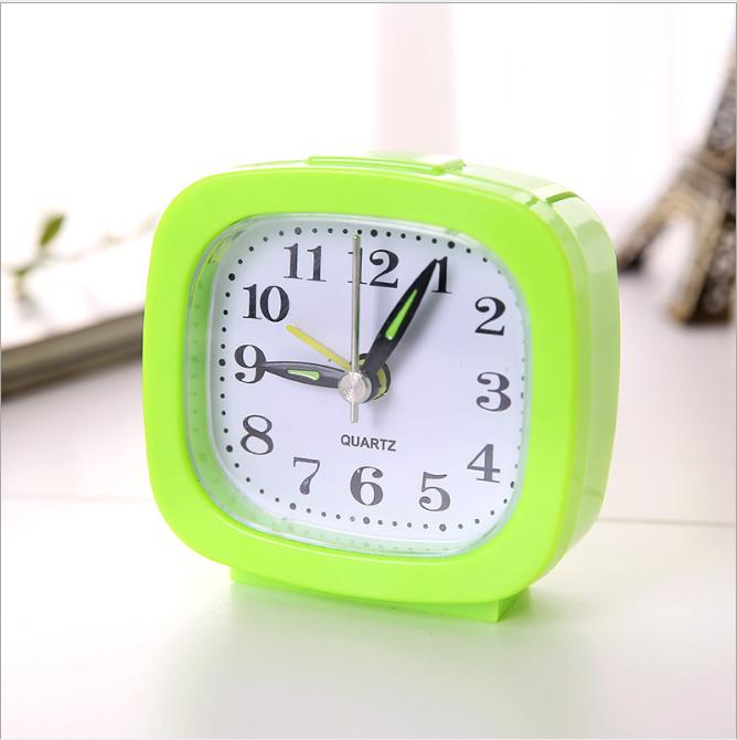 Đồng hồ báo thức vuông đa năng đầu giường nhắc nhở đồng hồ pin hẹn giờ về nhà đơn giản phòng ngủ thức dậy đồng hồ báo thức nhỏ