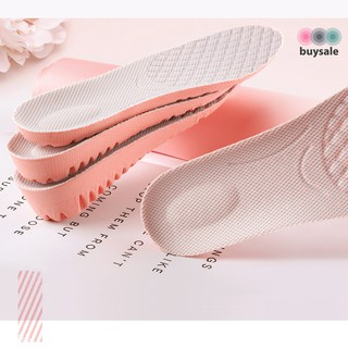 Lót giày nữ độn đế cao su non kiểu tổ ong tăng chiều cao 1.5cm, 2.5cm, 3cm - Hồng phối xám nhạt - buysale - BSPK156 8