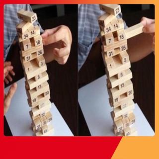 [SỐC VỚI GIÁ] Rút gỗ 54 chi tiết cho bé [Owo]
