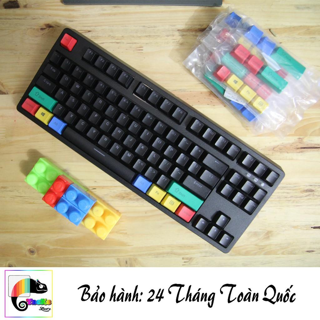 [PHIÊN BẢN ĐẶC BIỆT] E-Dra EK387 Blue/Brown/Red Switch Màu đen Tenkeyless I BH 24 Tháng Toàn Quốc Giá chỉ 599.000₫
