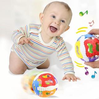 Đồ chơi lục lạc bằng cao su mềm cho bé từ 0-1 tuổi