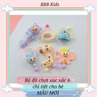 Bộ đồ chơi xúc xắc 6 món cho bé MẪU MỚI