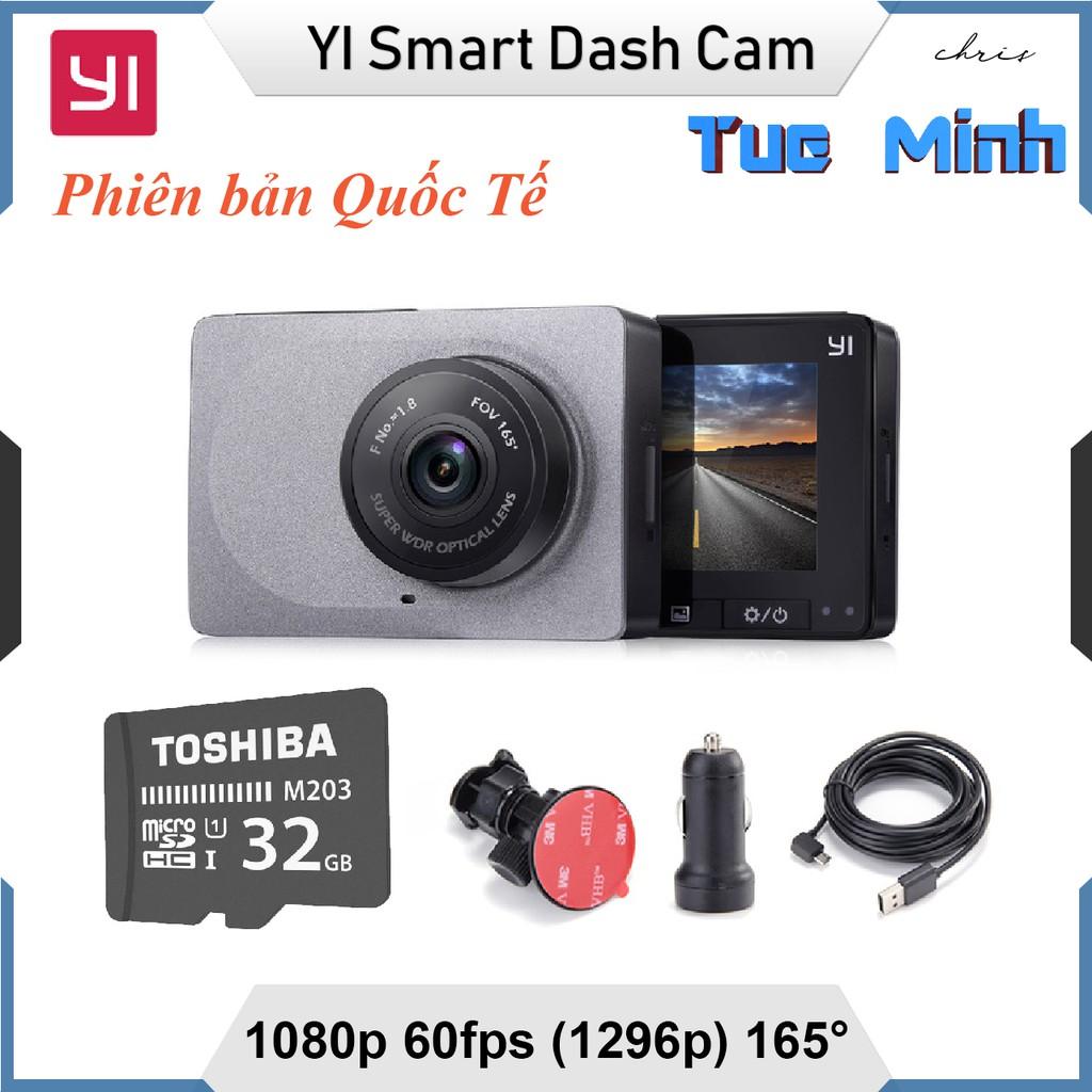 Camera hành trình Xiaomi YI Car Smart Dash Camera 1296p - phiên bản Quốc Tế - Tặng kèm thẻ 32GB - 3171017 , 940679175 , 322_940679175 , 1570000 , Camera-hanh-trinh-Xiaomi-YI-Car-Smart-Dash-Camera-1296p-phien-ban-Quoc-Te-Tang-kem-the-32GB-322_940679175 , shopee.vn , Camera hành trình Xiaomi YI Car Smart Dash Camera 1296p - phiên bản Quốc Tế - Tặng