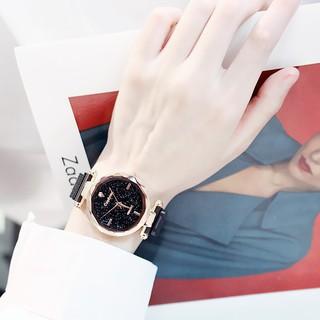 (Giá sỉ) Đồng hồ thời trang Candycat dây lưới lụa nam châm