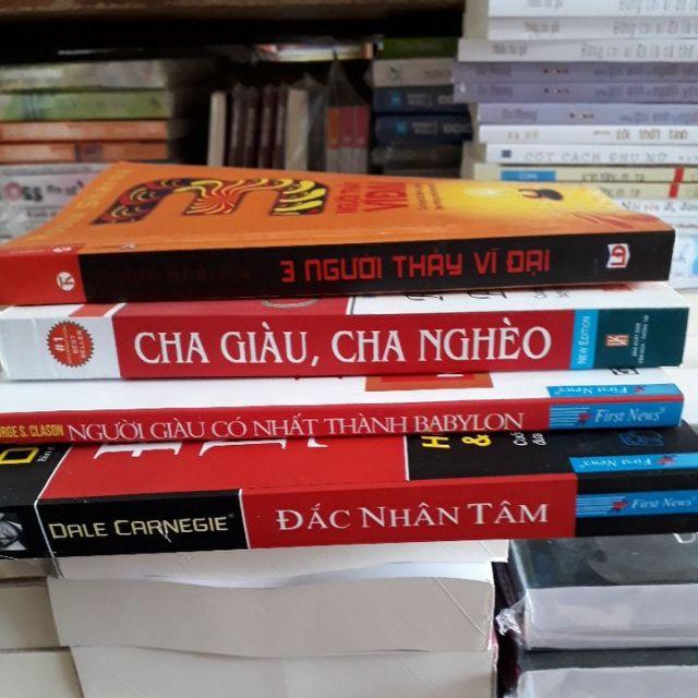 Combo 4 cuốn sách về kinh doang