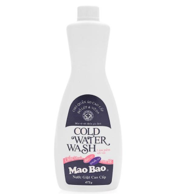 Nước giặt quần áo cao cấp Cold Water Wash Mao Bao 473g