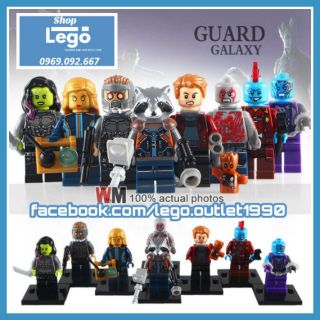 Xếp hình The Guardian of Galaxy Lego Minifigures Xinh X0159 thumbnail