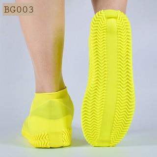 [Hàng Loại 1] Bao giày đi mưa silicon co giãn đế chống trượt chống thấm nước