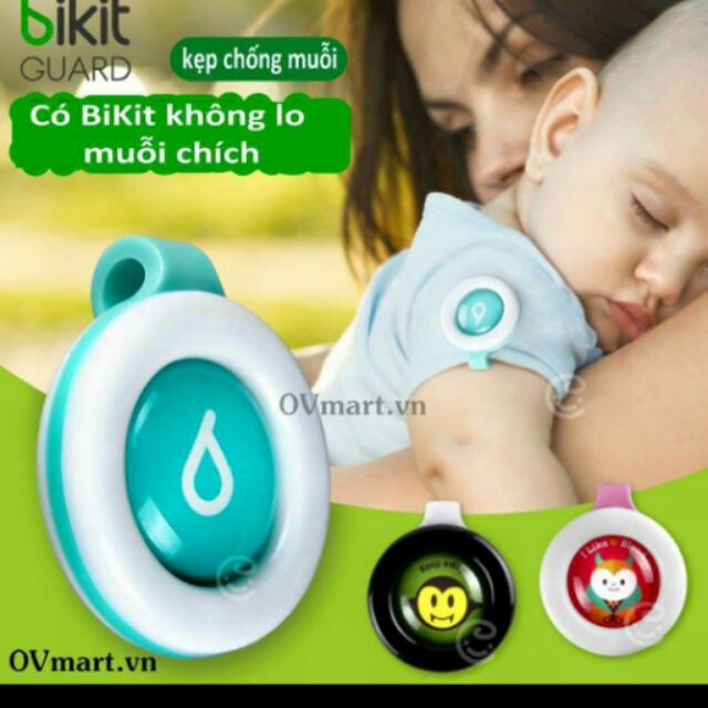 Kẹp chống muỗi cho bé