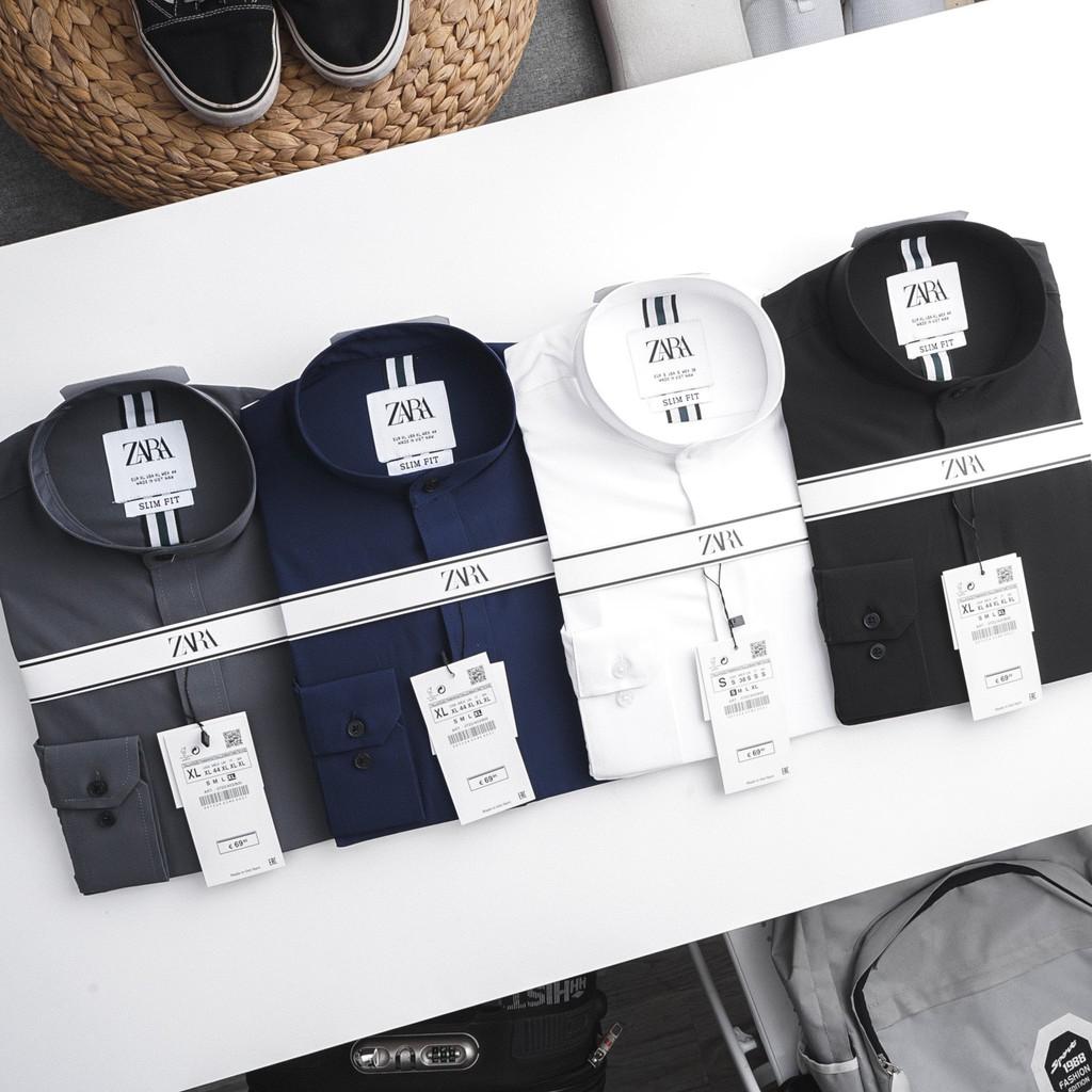 SMZRNLN - Áo sơmi tay ngắn linen Z.R dáng SLIMFIT , 1 trong những chiếc áo sơ mi linen đập tan cơn nóng mùa hè !