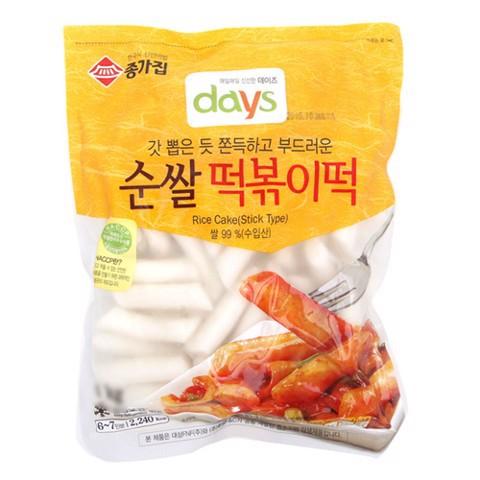 Bánh gạo tokbokki Hàn Quốc nhập khẩu 500gr