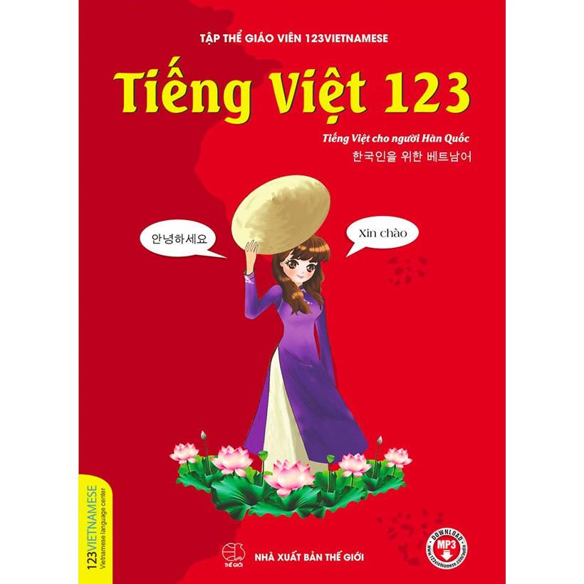 Sách - Tiếng Việt dành cho người Hàn Quốc - 123Vietnamese