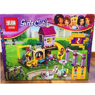 Lego Lepin Girls Club No.01050 / 365 Chi Tiết. Lego Xếp Hình Cho Bé Gái.