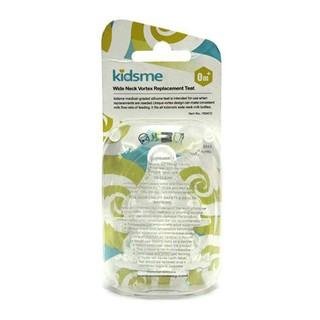 Núm ty silicone bình sữa cổ rộng Kidsme
