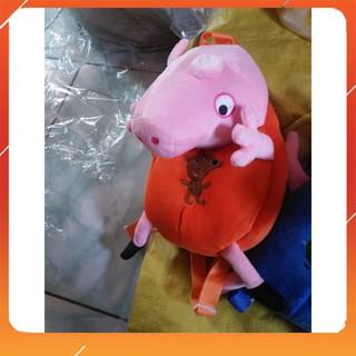(Mua Ngay Kẻo Hết) Balo Heo Peppa cho bé–6962 (Rẻ Là Mua)