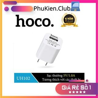 Củ sạc HOCO UH102 Chính Hãng Cao Cấp - Hỗ trợ sạc nhanh - Sạc iPhone Android 5V 1A thumbnail