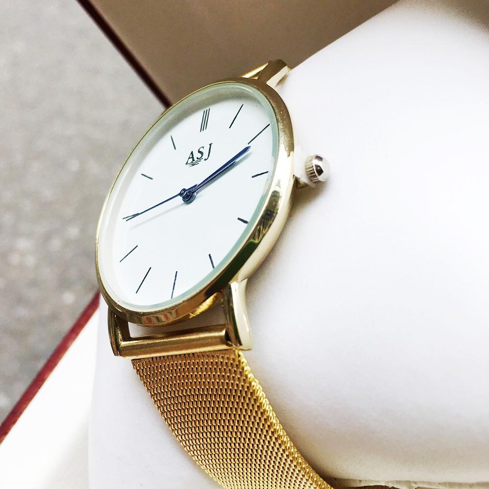 [GIÁ HỦY DIỆT] Đồng Hồ Dây Thép Lưới đồng hồ thời trang nam nữ cao cấp