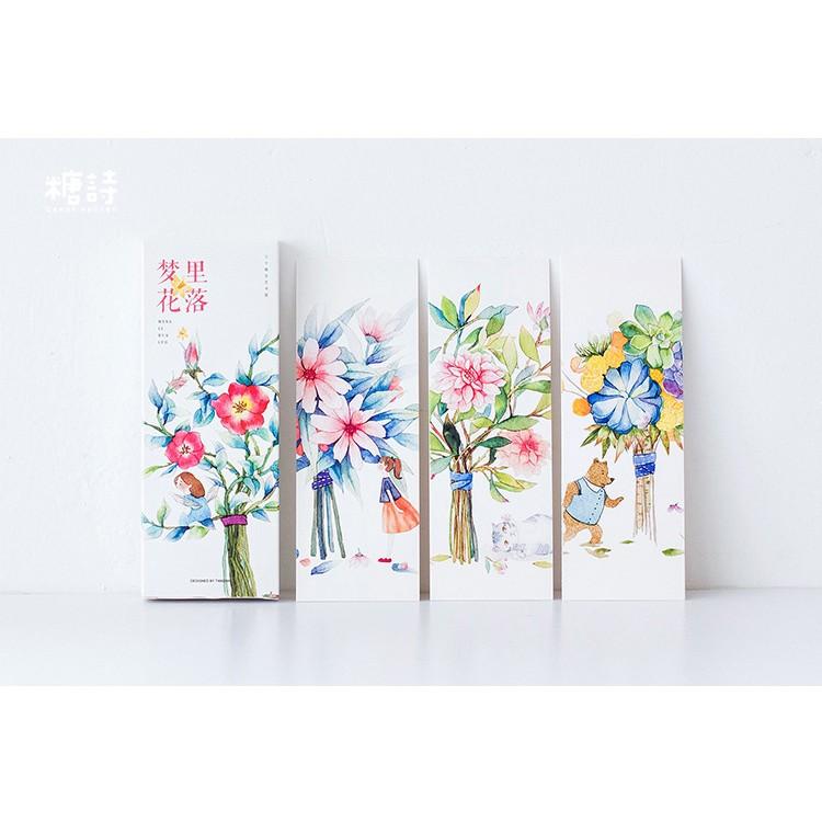 Bookmark Hoa rơi trong mộng