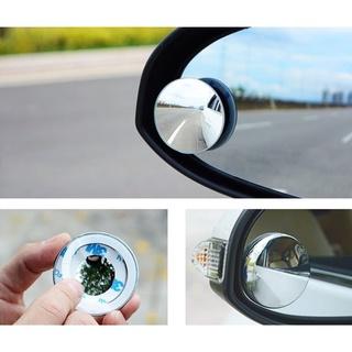 Bộ đôi gương cầu tròn 360 độ Gắn gương chiếu hậu - xóa điểm mù xe hơi, xe máy thumbnail