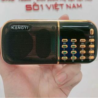 Đài Niệm Phật Kangyi B857 Nghe Đài FM, Hỗ Trợ Thẻ Nhớ, Pin 6.600mAh