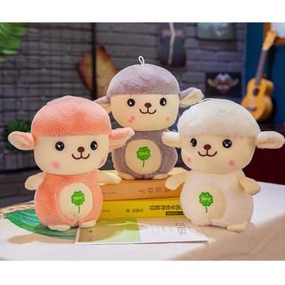 Korea cute cartoon sheep doll plush toy lamb child doll doll birthday gift boy g