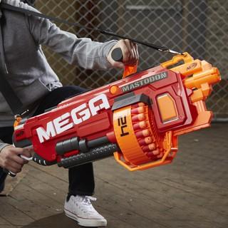 Đồ chơi Nerf Mega Mastodon + 24 thanh xốp mega