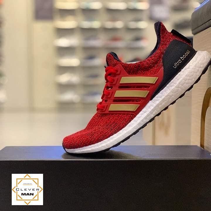 pretty nice 59325 dbe32 (ẢNH THẬT) giày thể thao ULTRA BOOST 4.0 GAME OF THRONES đỏ kẻ vàng
